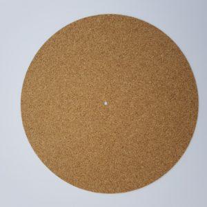 Plattentellerauflage, Korkmatte, Plattenteller Auflage, Slipmat