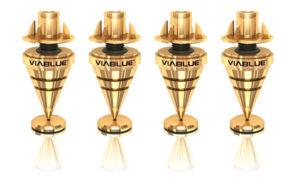 HS Spikes gold, Hs Spikes, Spikes, Gerätefüße, HiFi Zubehör, Lautsprecher, HiFi, Absorber, Viablue, Via Blue